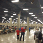 The tournament hall